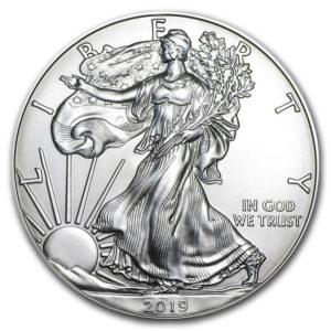 Moneda de Plata AMERICAN EAGLE Estadounidense 1 OZ