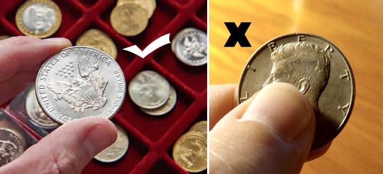 Cómo cuidar las monedas de ORO & PLATA